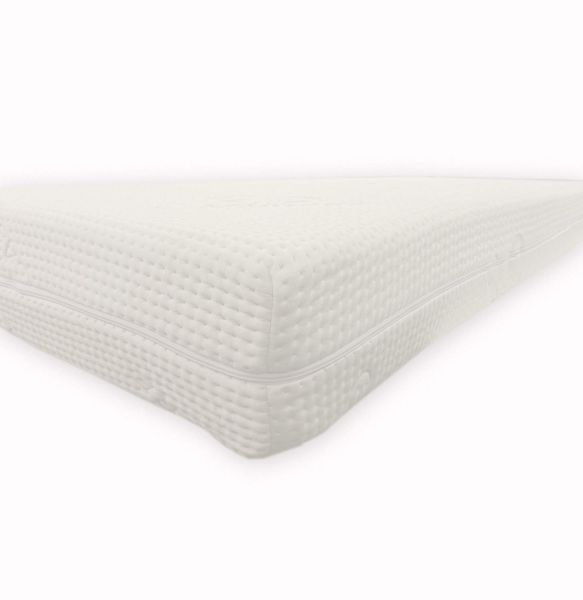 Dibapur® Cashmere Topper Visco Noppen Auflage mit Cashmere Bezug ca. 6cm Gesamt: ca. 6,2 cm