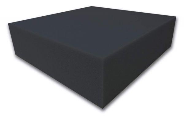 Dibapur® Akustikpur - glatt schwarz Raum Akustik Schaumstoff Dämmung Schallschutz