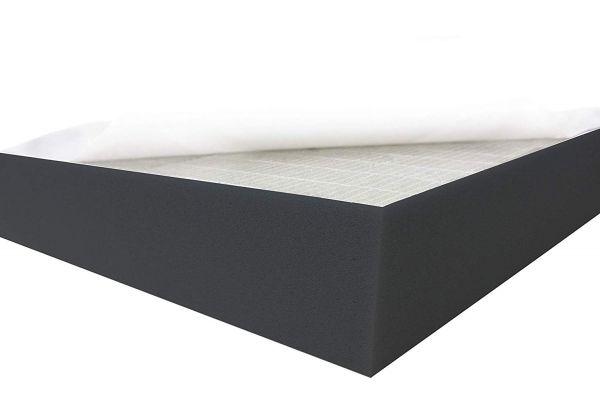 Dibapur® Black FSE - Flamm hemmend SELBSTKLEBEND Raum Akustik Schaumstoff Dämmung Schallschutz