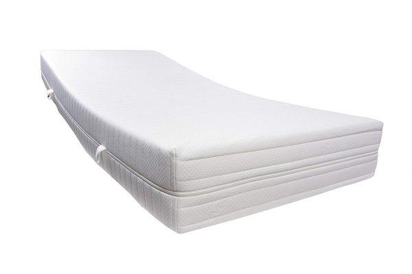 Dibapur® R 45A Kaltschaummatratze FEST bis ca. 190 Kg Doppeltuchbezug Gesamthöhe ca. 25 cm